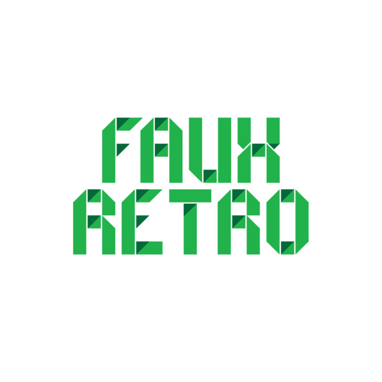 Faux Retro - Logo - Hello Studio