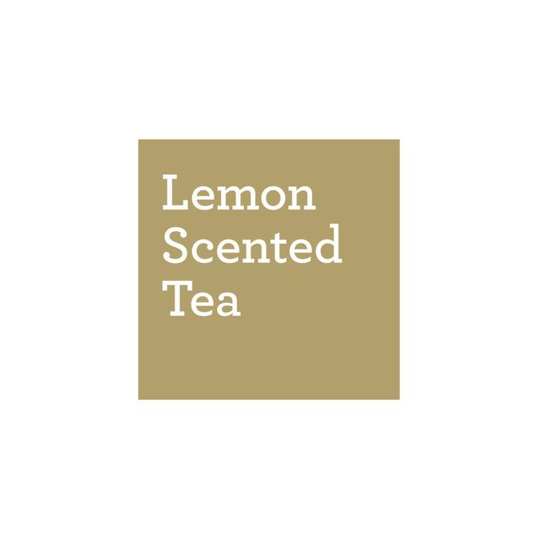 Lemon scented tea - Logo - Hello Studio