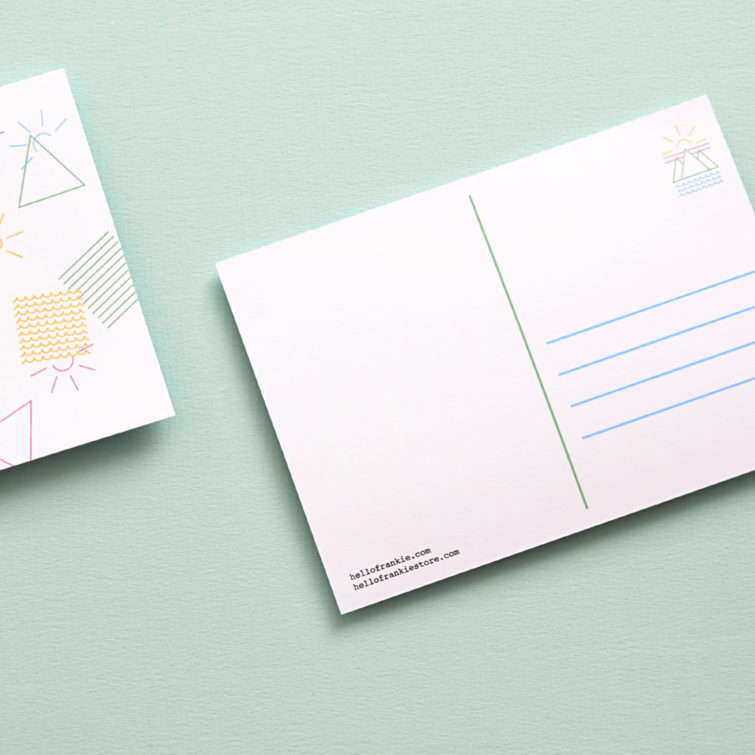Hello Frankie-Postcard-Hello Studio